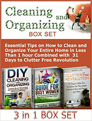Cleaning and Organizing box set