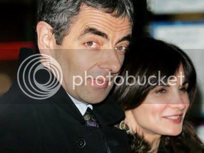 Foto Mr.Bean  Istri & Anak-Anaknya