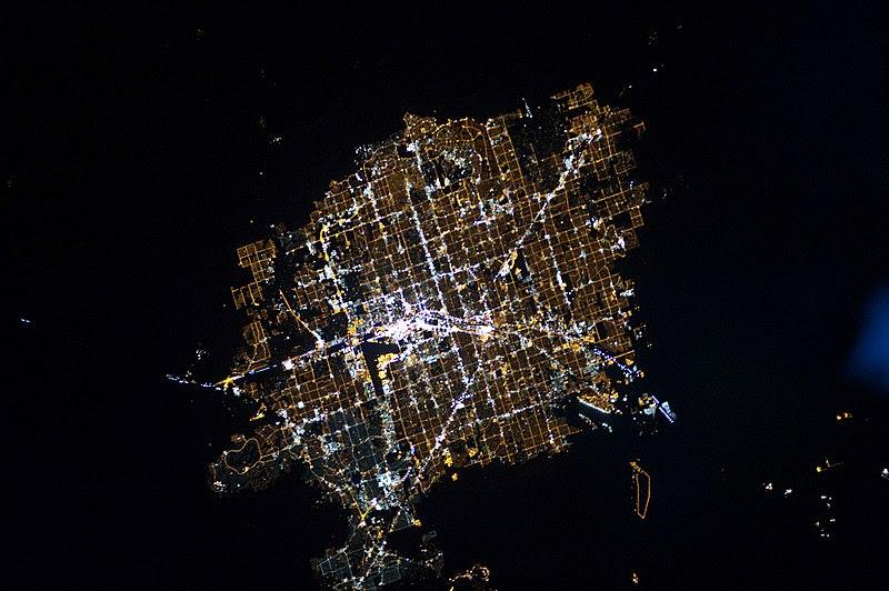 File:Las Vegas at Night.JPG