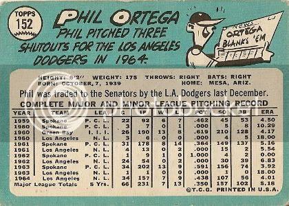 #152 Phil Ortega (back)