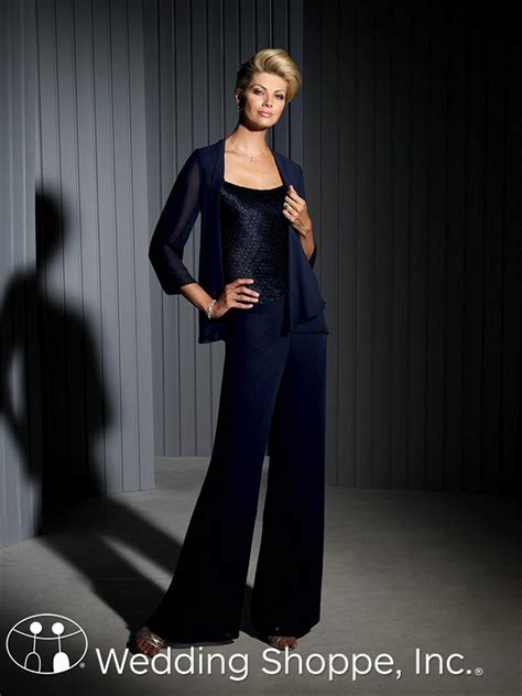 flattering mother   bride pant suits