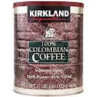 Kirkland Signature 100% Colombian Coffee, Dark Roast, 3 lbs