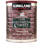 Kirkland Signature 100% Colombian Coffee, Dark Roast, 3 lbs