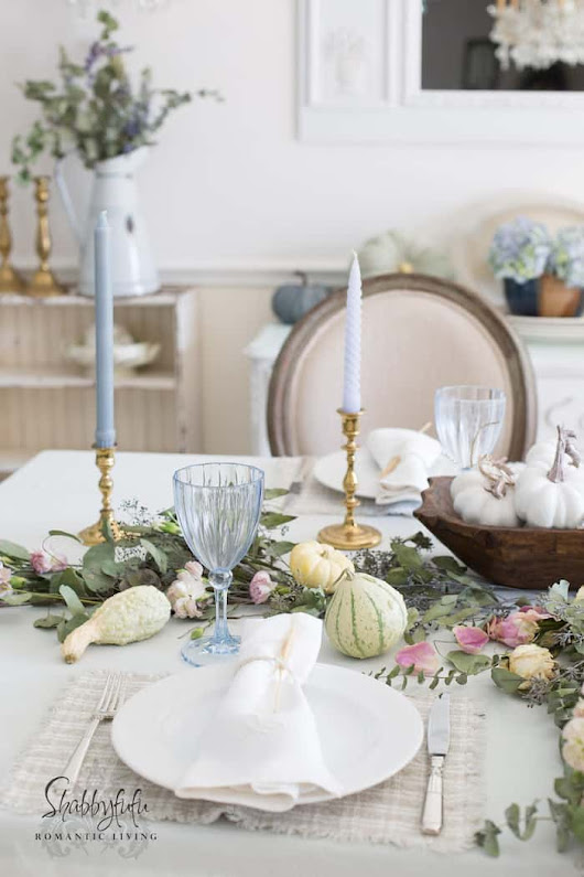 How To Style An Elegant Table Setting With Pastels - shabbyfufu.com
