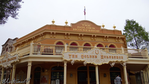 Disneyland Resort, Disneyland, Frontierland, Golden Horseshoe