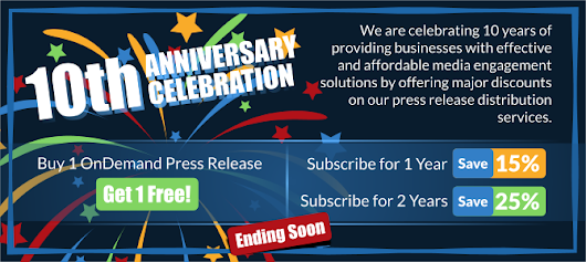 Celebrating 10 Years of Media Engagement Innovation | ReleaseWire