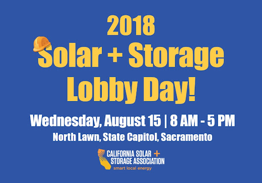 Join SunEarth, as we Support CALSSA this August for the 2018 Solar + Storage Lobby Day. | SunEarth