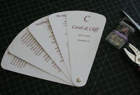 cherish paperie diy wedding invitations diy fan wedding