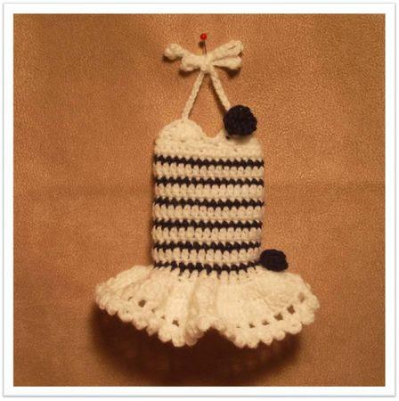Robe crochet01