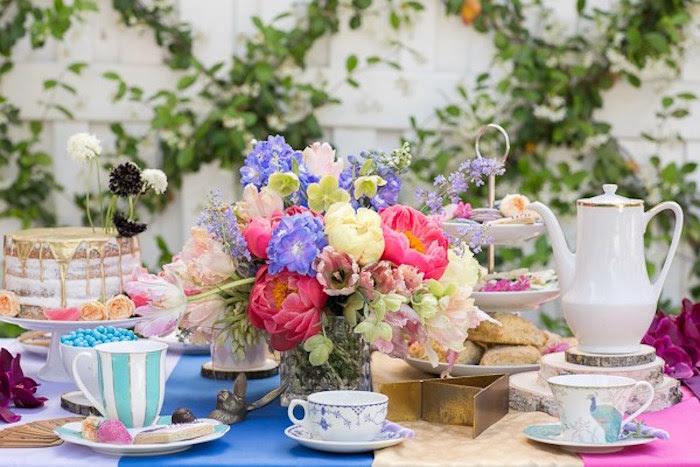 Karas Party Ideas Alice In Wonderland Tea Party Karas Party Ideas