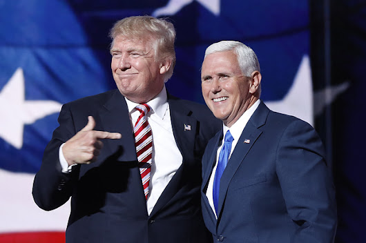 "Trump Reportedly Joked That Mike Pence ""Wants To Hang"" All Gay People"