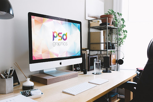 New iMac Mockup Free PSD | PSD Graphics