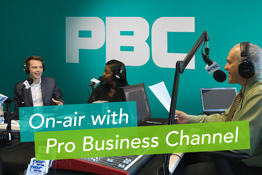 KEYLAY Goes On-air with Pro Business Channel - KEYLAY Design