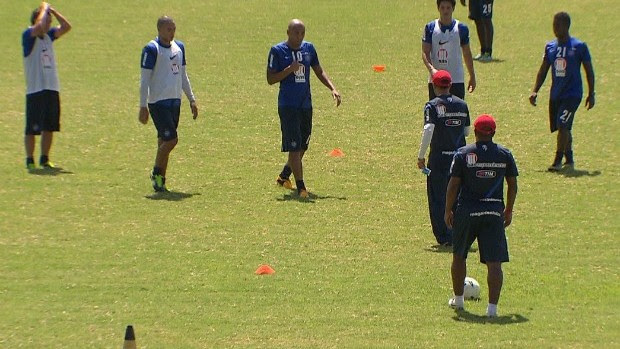 Jorginho e Souza discussão (Foto: Reprodução / TV Bahia)