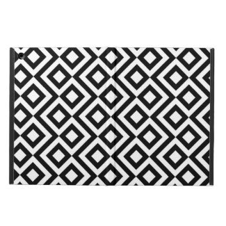 Black and White Meander iPad Air Cases