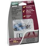 Safety Works Swx00231 Multiple-use Tri Flange Ear Plug Corded, Plastic