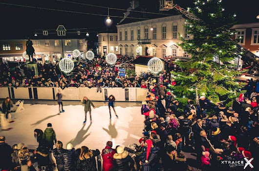 Promote local tourism and business with a synthetic ice rink