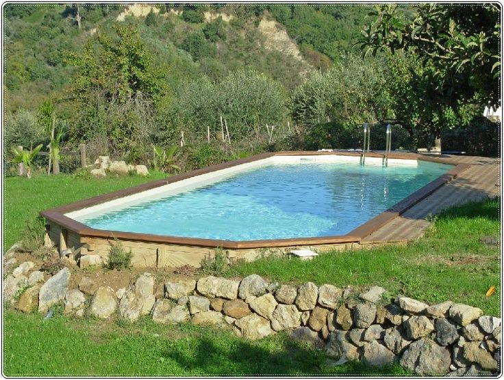 Backyard design ideas with above ground pool