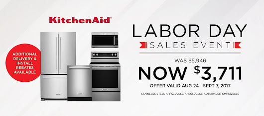 Exclusive KitchenAid promotion for Labor Day