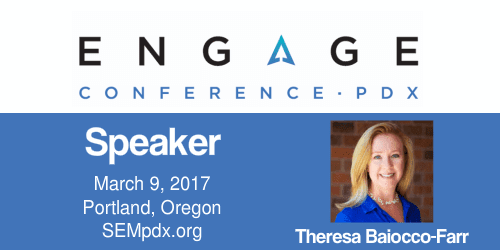 2017 Engage Mini-Interview: Theresa Baiocco-Farr | SEMpdx