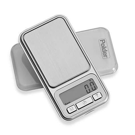 polder digital pocket portion food scale bed bath