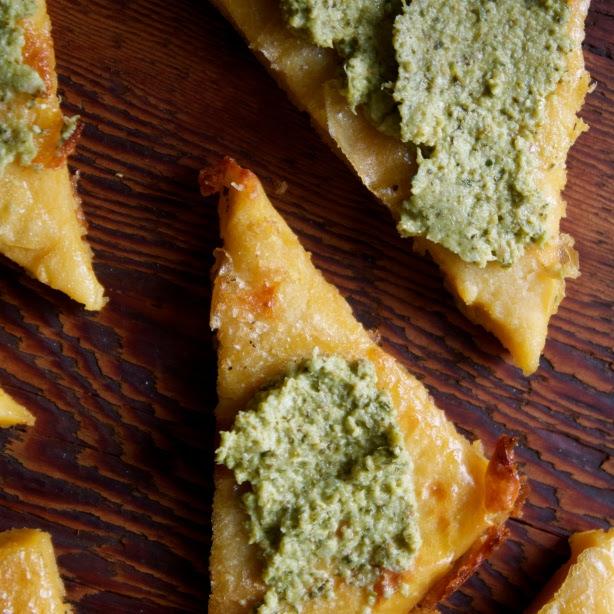 Recipe: Authentic Italian Chickpea Flat Bread - HOLLY ...