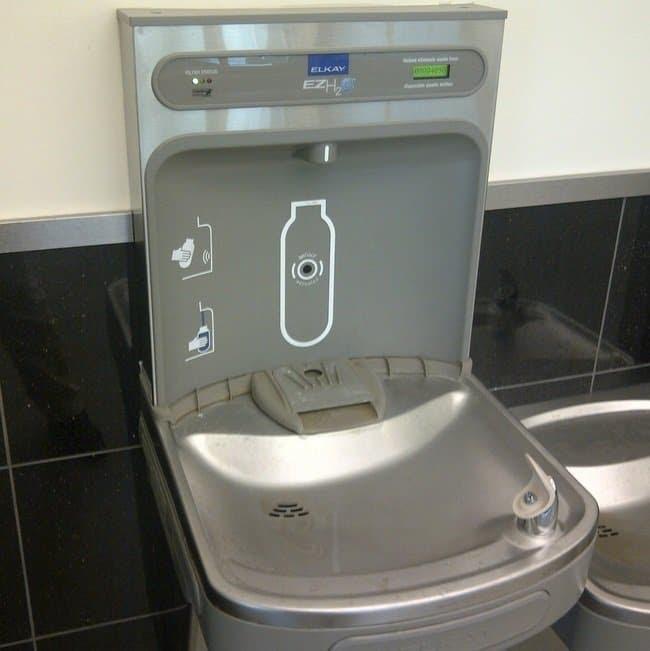 water bottle fountain machine