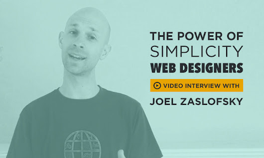 The Power of Simplicity for Web Designers