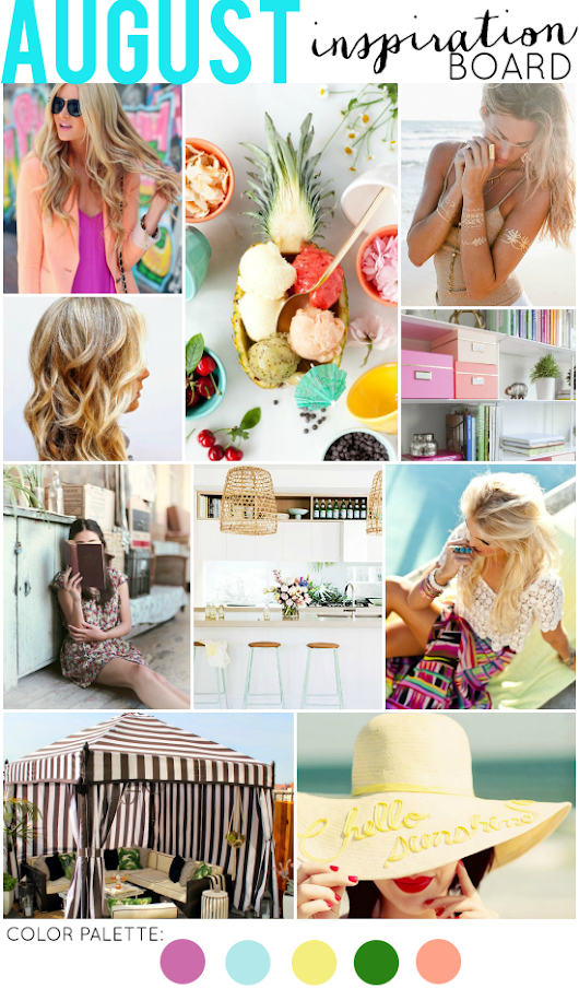 La Petite Fashionista: August Inspiration Board