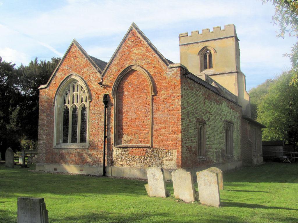 Picture of St Faith, Hexton, Herts, parish church