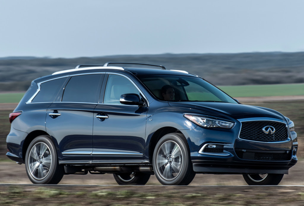 2017 Infiniti QX60 Gets New Engine, New Features - autoevolution