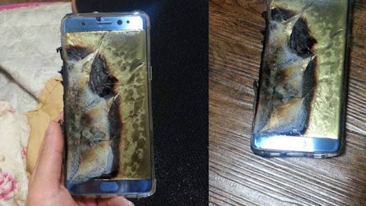 Samsung Confirms Note 7 Recall After 35 Reports of Dangerous Battery Problems