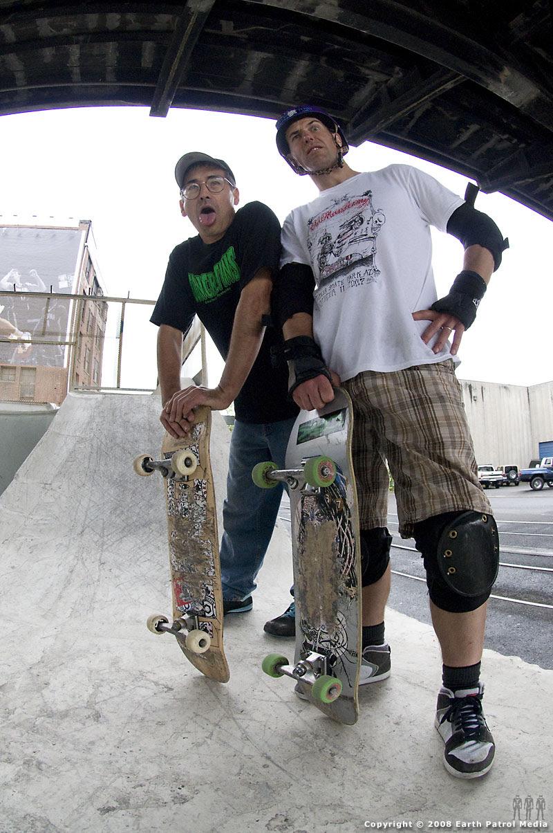 Dave and MC @ Burnside