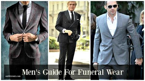 wear   funeral  proper funeral men attire