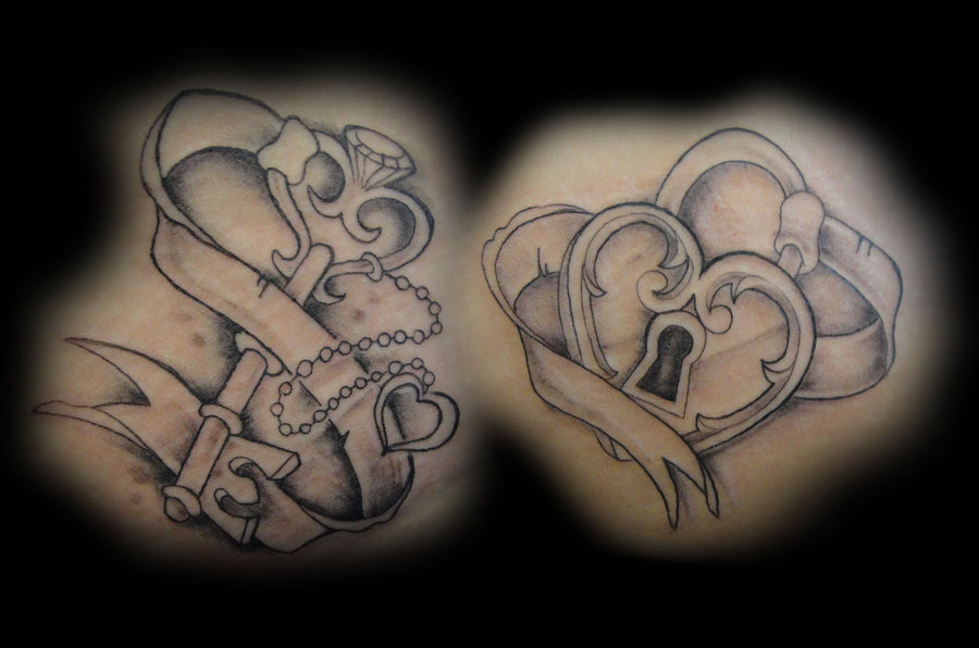 30+ Heart Lock and Key Tattoo Ideas To Unlock Your Love ...