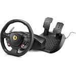 Thrustmaster - T80 Ferrari 488 GTB Edition Racing Wheel for PlayStation 4 and Windows - Black
