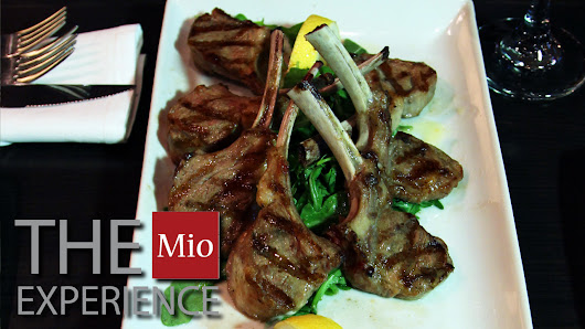 Best Lamb Chops Recipe at Mio Ristobar Toronto - Corporate Video Production Toronto by Joseph Morris
