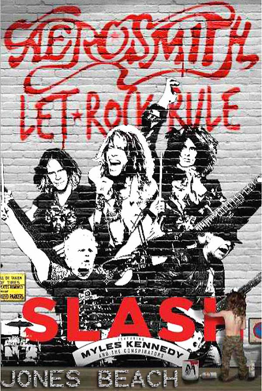 Aerosmith / Slash - July 10, 2014