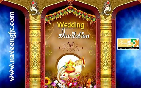indian wedding banner psd template free download   Wedding