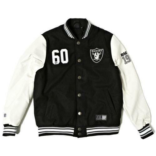Raiders Varsity Jacket  eBay