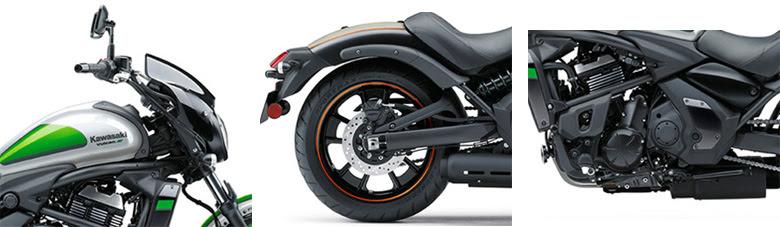 2017 Kawasaki Vulcan S Abs Cafe Cruisers Motorcycle Specs 1