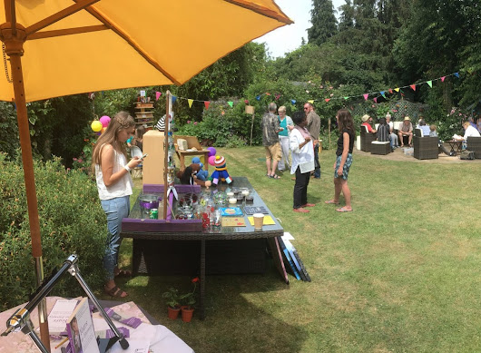 Garden party raises money for charities - Onwards and Upwards Publishers