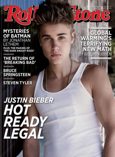 Justin Bieber Rolling Stone wifebeater hot ready legal