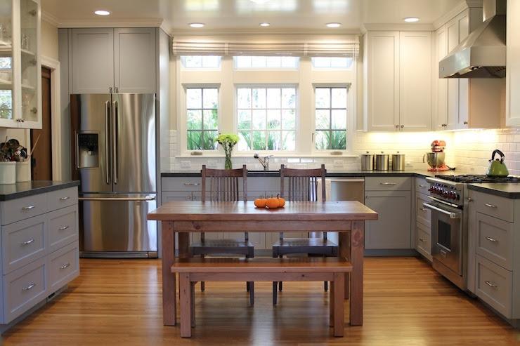 Gray Kitchens - Cottage - kitchen - Mueller Nicholls