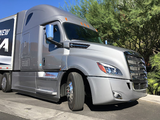 Driving the new Cascadia - Truck News