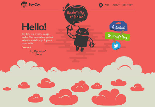 20 Best Websites with Parallax Scrolling - OneLine Media LLC