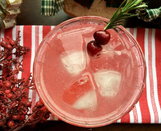 Cranberry Margarita Recipe - Just Short of Crazy