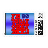 I'm - Obey Me! Funny Customize Birthday Template stamp
