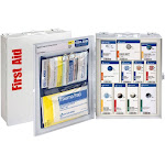 First Aid Only 25 Person First Aid Cabinet with Food