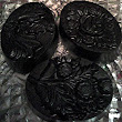 Activated Charcoal Soap Glycerin In Fowers Vegan Every Order comes with a Free Gift